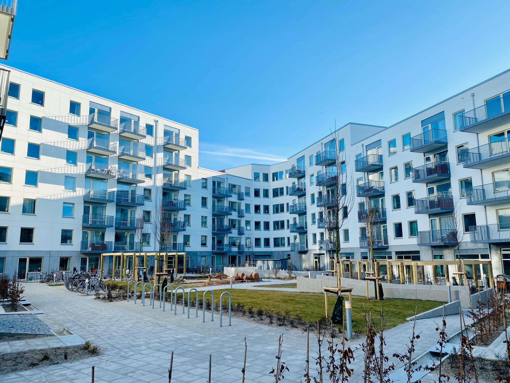 Bygget i Limhamns sjöstad nu i mål!