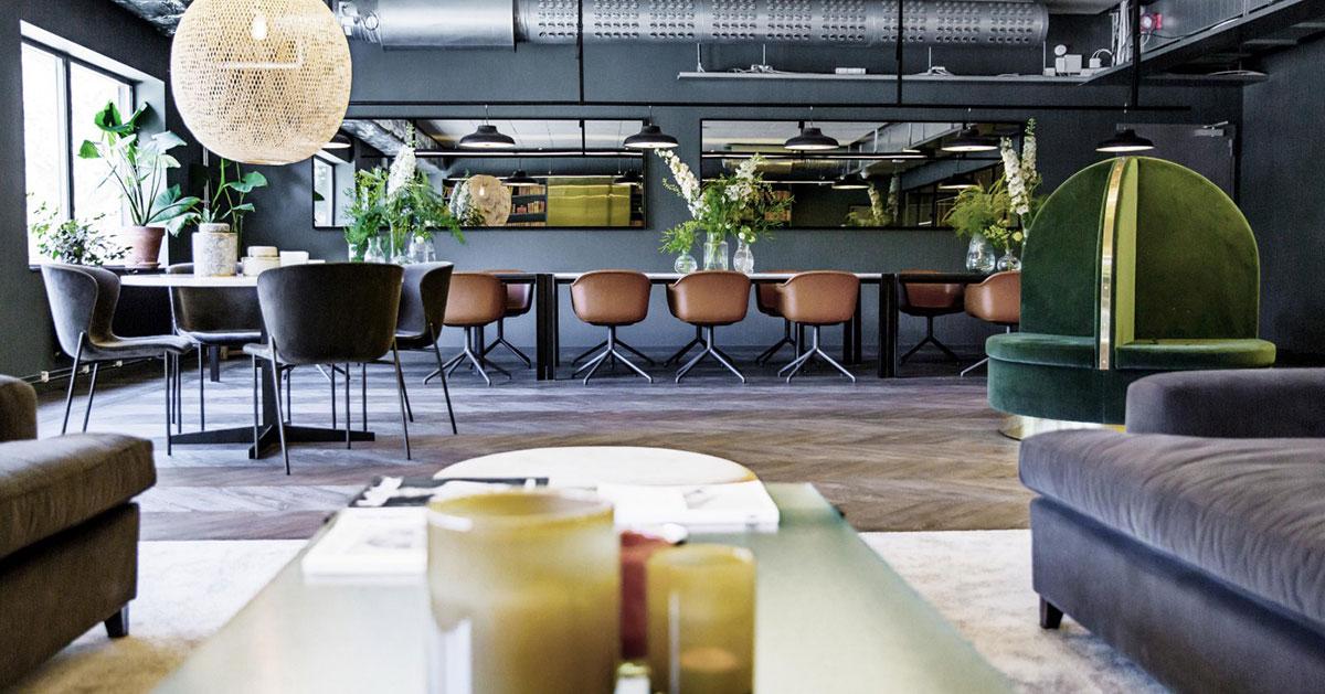 Vita Örn startar kontorshotell utöver det vanliga!